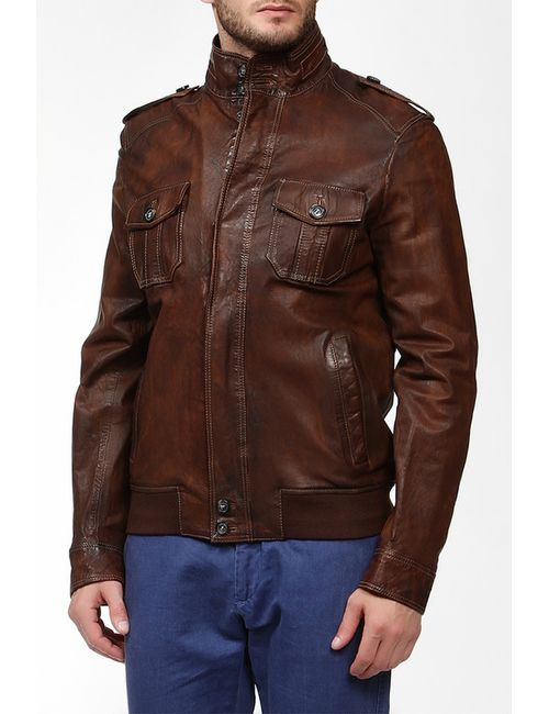 Baldessarini | Мужская Коричневая Куртка