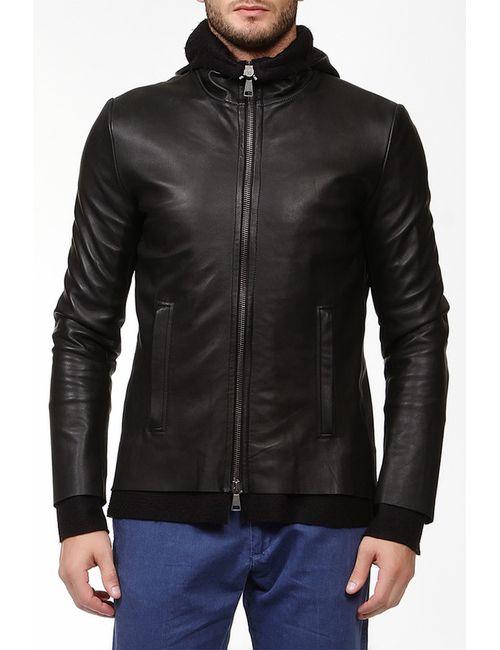 10Sei0Otto   Мужская Чёрная Куртка