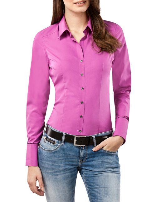 Vincenzo Boretti | Женская Фиолетовая Рубашка