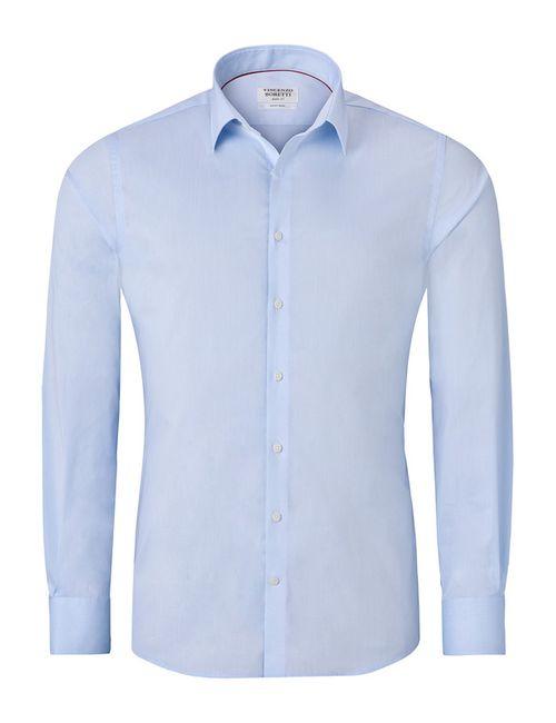 Vincenzo Boretti | Мужская Синяя Рубашка