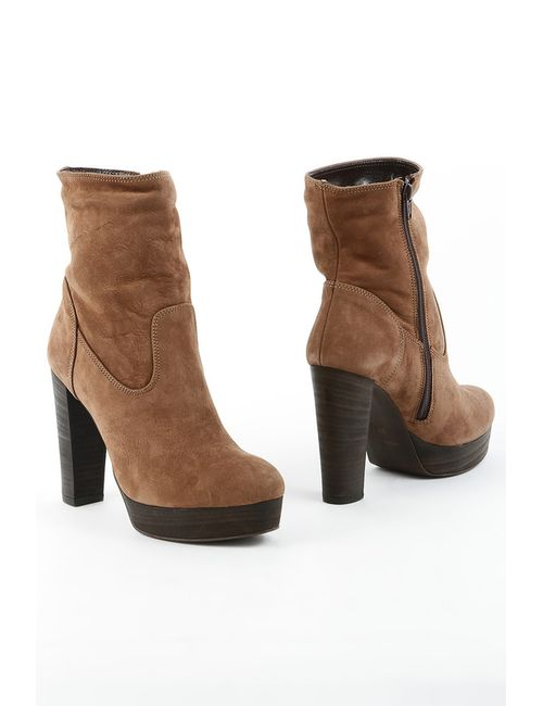 Liska | Женские Коричневые Ботинки