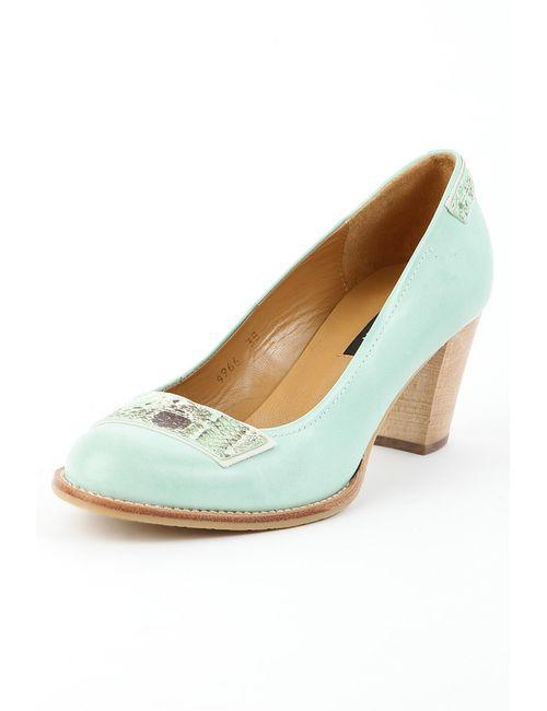 Zinda | Женские Зелёные Туфли