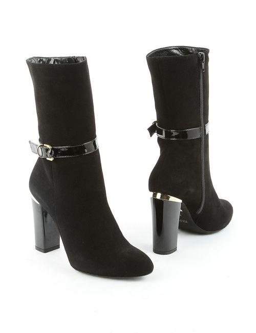 Liska | Женские Чёрные Ботинки