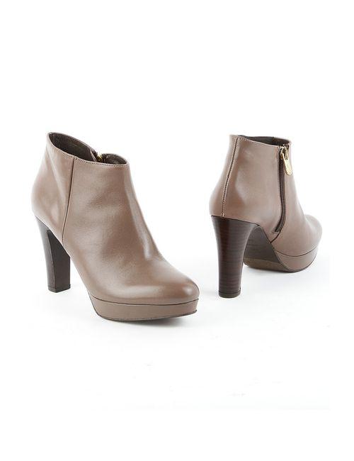 Liska | Женские Бежевые Ботинки