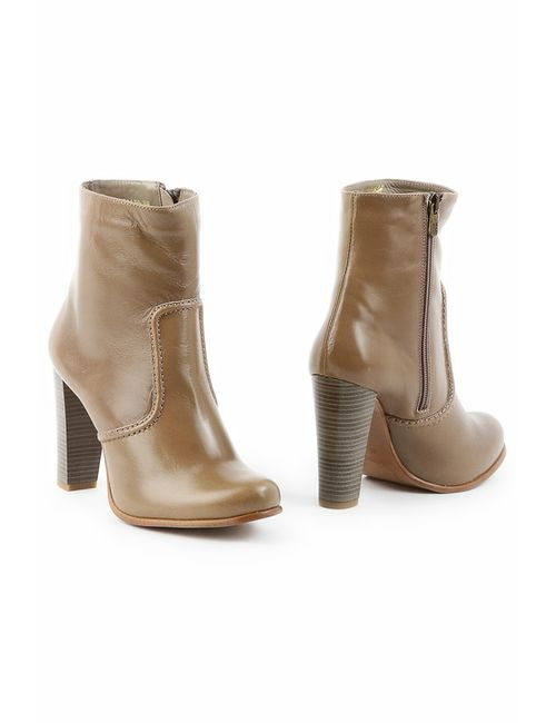 Sk | Женские Бежевые Ботинки