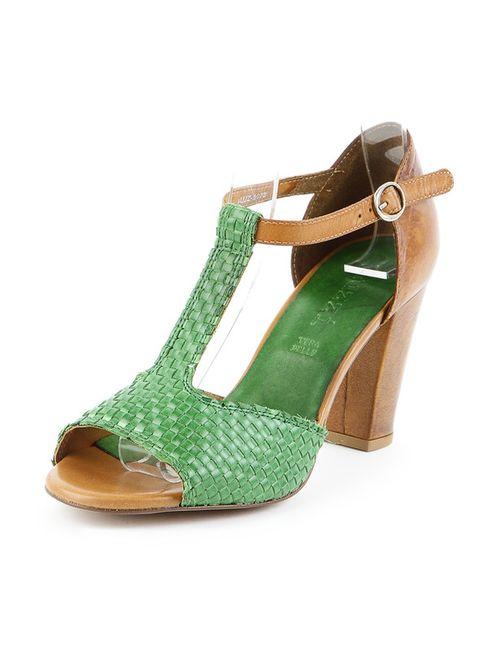 Sk   Женские Зелёные Туфли