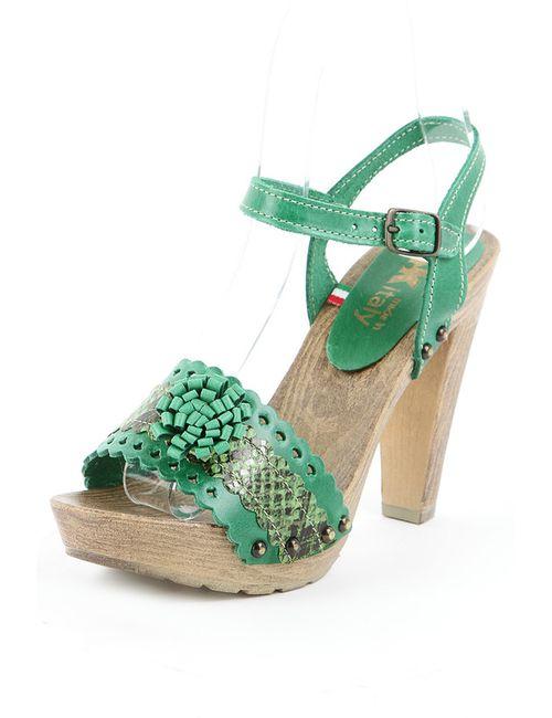 Sk | Женские Зелёные Туфли