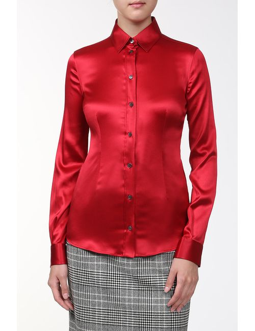 Dolce & Gabbana | Женская Красная Сорочка