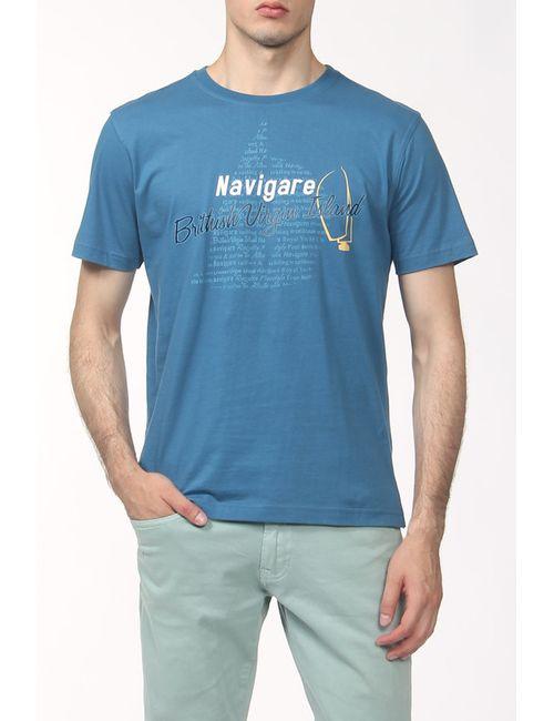 Navigare | Мужская Многоцветная Футболка