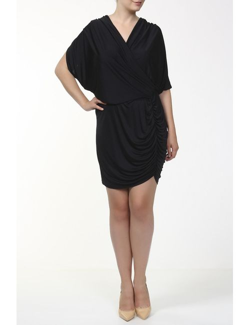 Catherine Malandrino | Женское Чёрное Платье Джерси