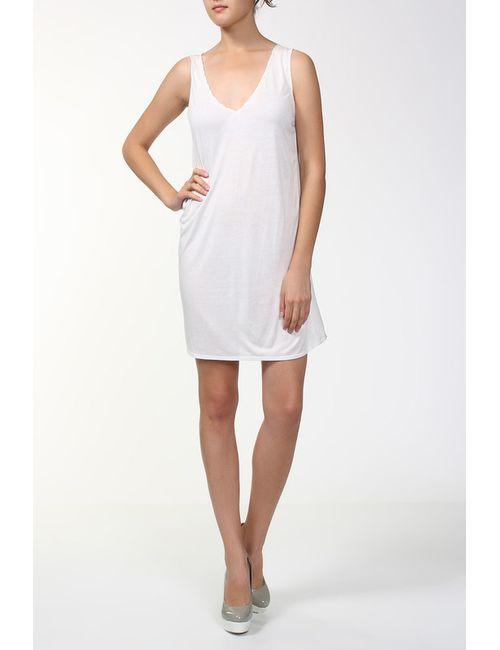 Aiko | Женское Белое Платье Джерси