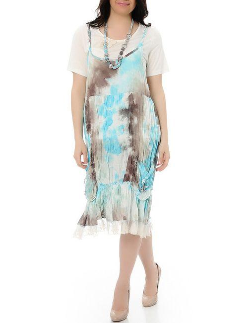 Milanesse | Женское Синее Платье