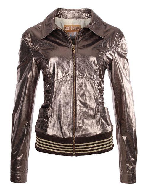 Galliano | Женская Коричневая Куртка