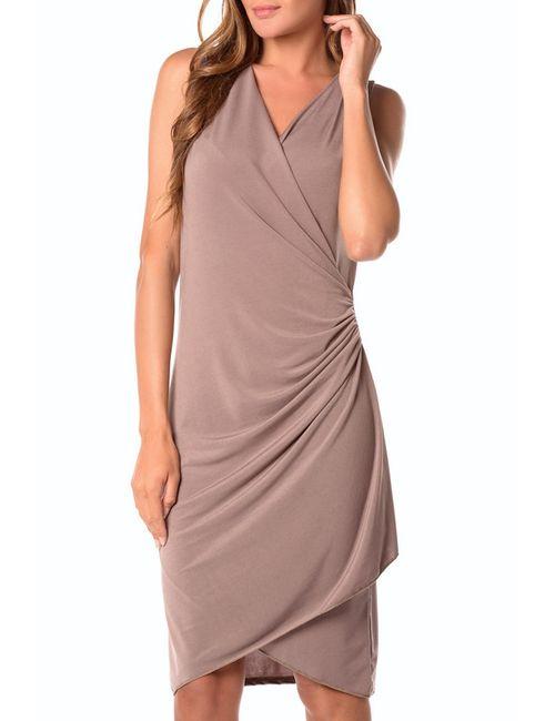 La Belle Parisienne | Женское Серое Платье