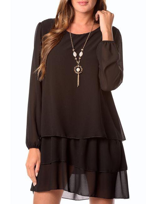 La Belle Parisienne | Женское Чёрное Платье