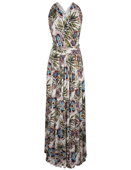 Galliano | Женское Многоцветное Платье