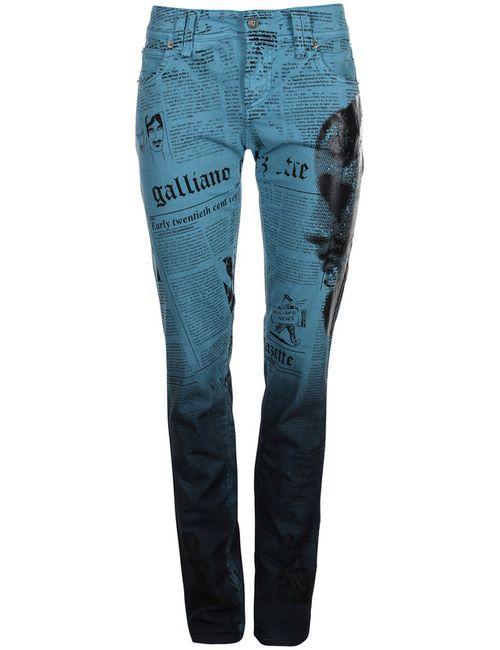 Galliano | Женские Синие Джинсы