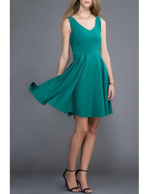 Milla   Женское Зелёное Платье