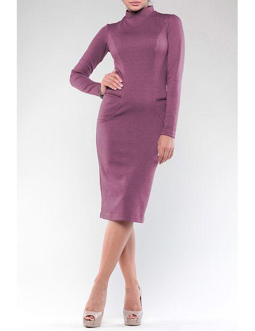 Maurini | Женское Фиолетовое Платье
