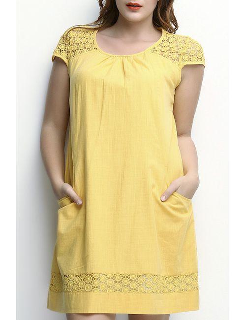 Zer Otanik | Женское Жёлтое Платье