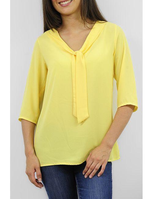 Cote anglaise | Женская Жёлтая Блузка