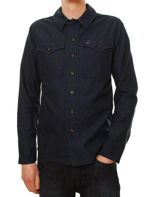 Denham | Мужская Синяя Рубашка