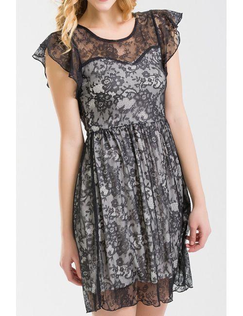 NUNA LIE | Женское Черный Платье