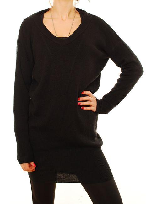 Denham | Женское Чёрное Платье