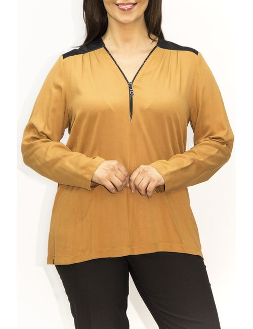 Exline | Женская Оранжевая Блузка