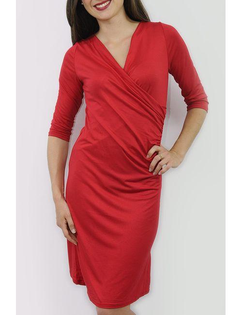 Cote anglaise | Женское Красное Платье