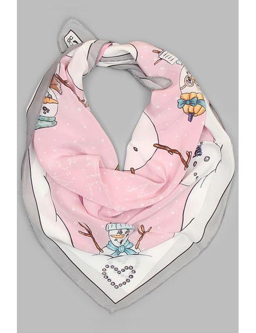 Moschino | Женский Розовый Платок