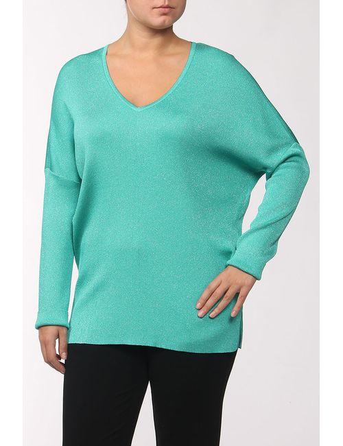 St. John | Женский Зелёный Пуловер Вязаный