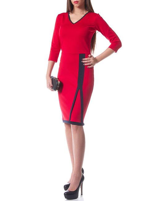 Evercode | Женское Красное Платье