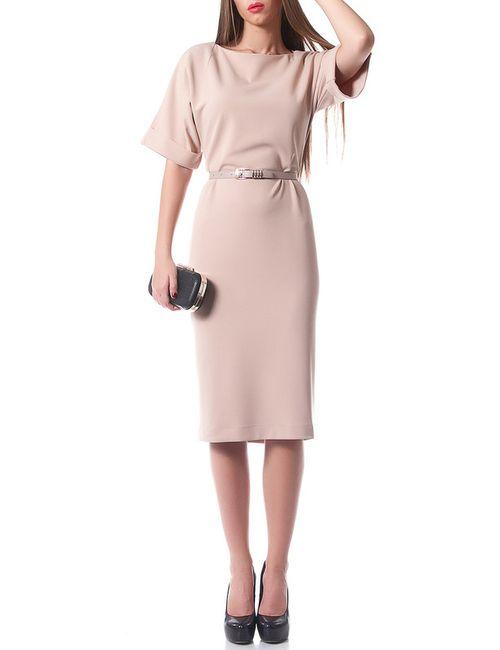 Evercode | Женское Бежевое Платье