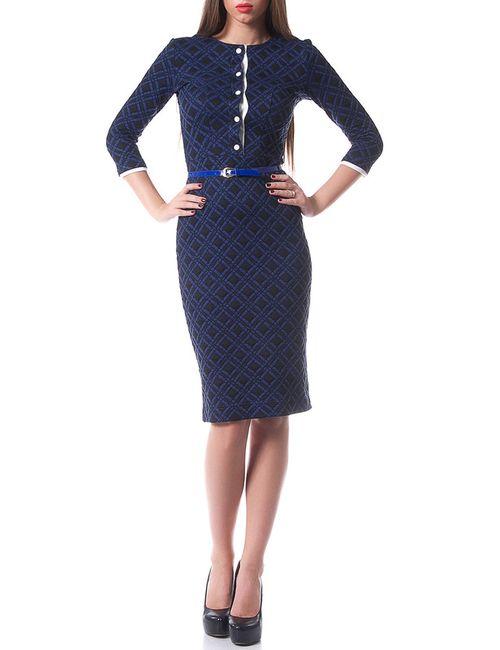OKS | Женское Синее Платье