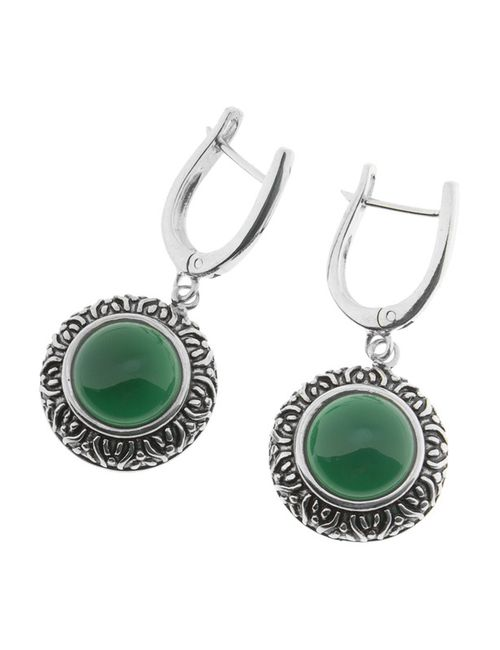 Migura | Женские Зелёные Серьги