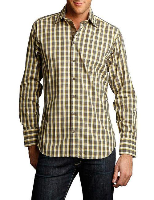 Gazoil | Мужская Зелёная Рубашка