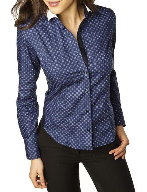 Gazoil   Женская Синяя Рубашка