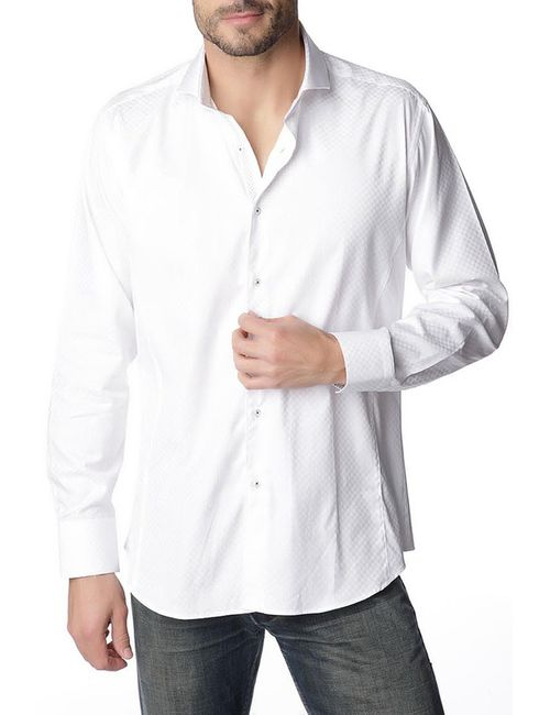 Gazoil | Мужская Белая Рубашка