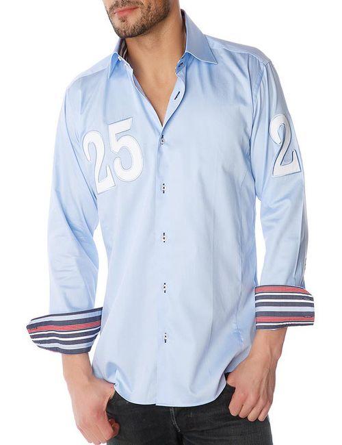 Gazoil | Мужская Синяя Рубашка