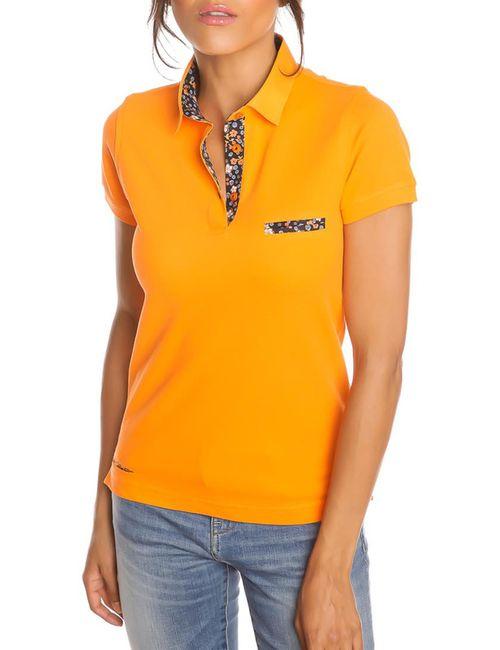Gazoil | Женская Оранжевая Рубашка-Поло