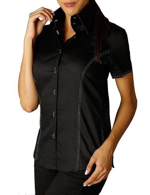 Gazoil   Женская Чёрный Рубашка