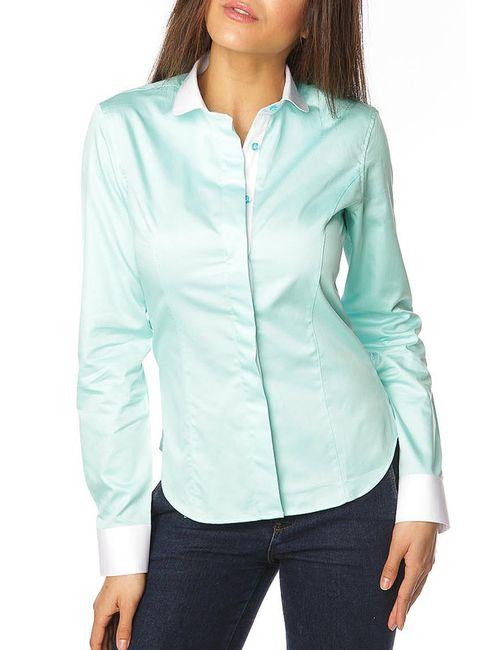 Gazoil | Женская Зелёная Рубашка