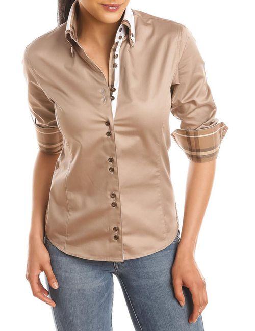Gazoil | Женская Бежевая Рубашка