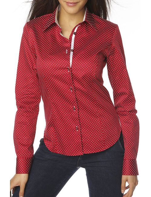 Gazoil | Женская Красная Рубашка