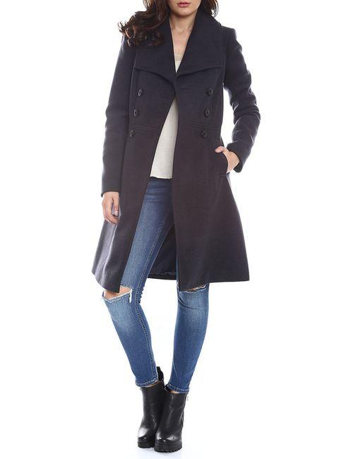 Moda Di Chiara | Женское Синее Пальто