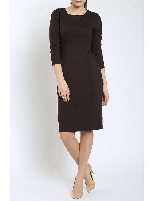 Moda Di Chiara | Женское Коричневое Платье