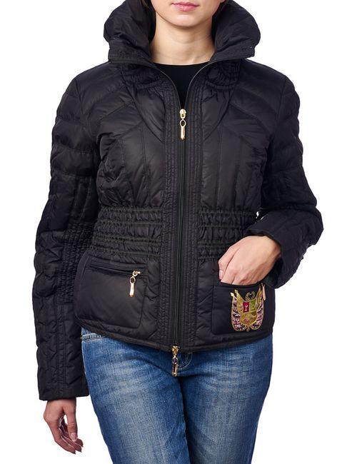 Roccobarocco | Женская Чёрная Куртка