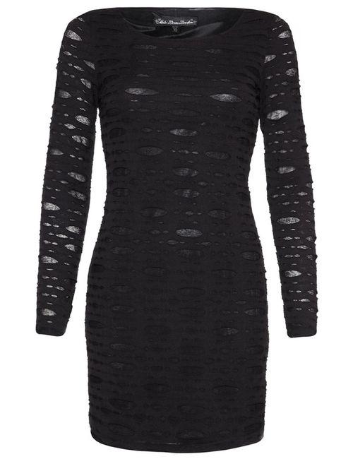 MELA | Женское Чёрное Платье