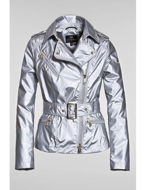 Goldbergh | Женская Серебряная Куртка